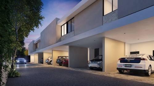 maculi townhouses en cholul, modelo 2