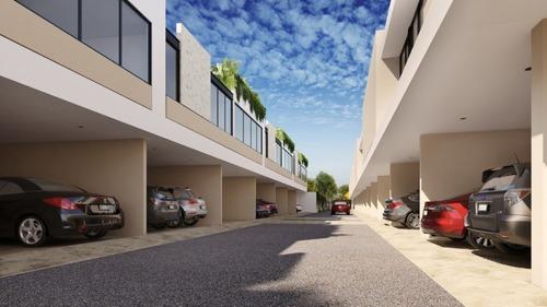 maculi townhouses modelo 3, en cholul, mérida.