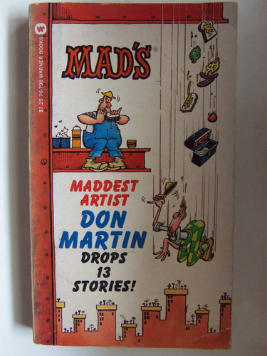 mad artist don martin drops 13 stories comic en ingles
