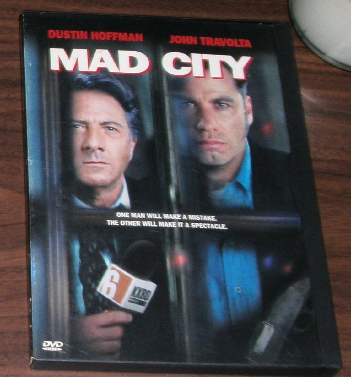 Mad City (el Cuarto Poder). John Travolta Y Dustin Hoffman - $ 250 ...