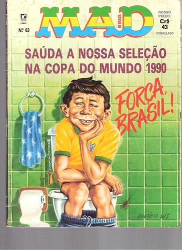 mad in brazil 63 - 1990 - ed. rcecord