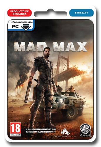 mad max juego pc digital steam tenelo ya entrega inmediata