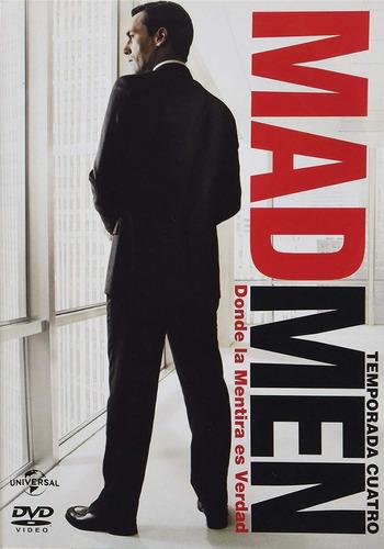 mad men cuarta temporada 4 cuatro dvd