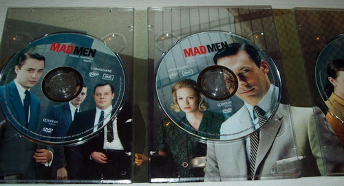 mad men pack temporada 1 completa 4 dvd box set ed. limit.