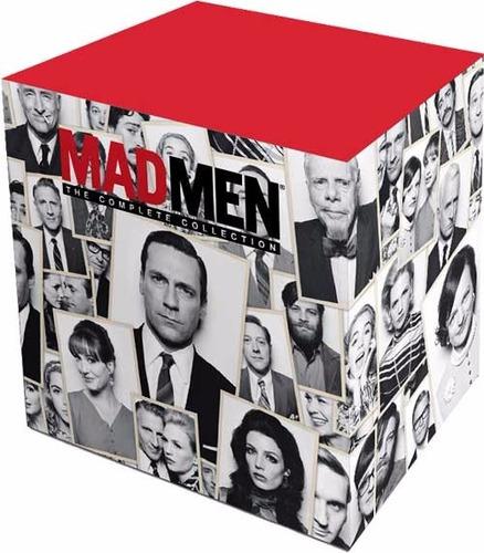 mad men serie completa boxset 7 temporadas blu-ray