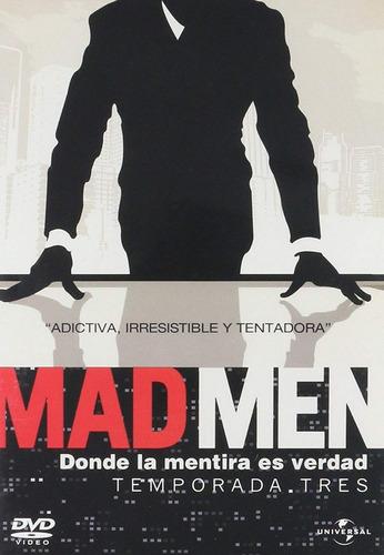 mad men tercera temporada 3 tres dvd