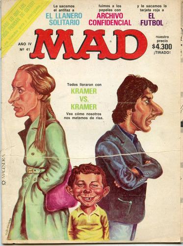 mad  nº 41, agosto de 1980, argentina