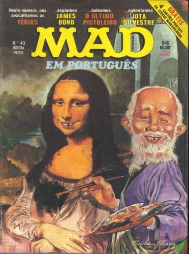 mad nº 43 ed. vecchi bom estado de 1978
