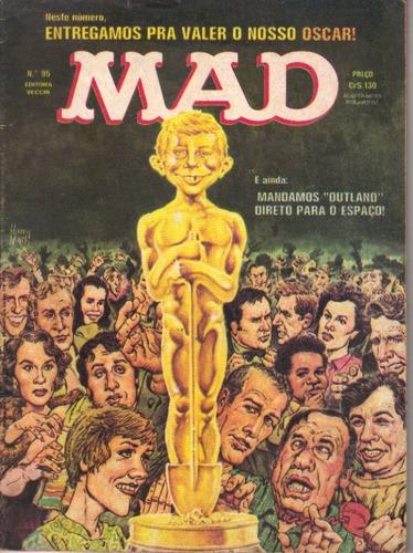 mad nº 95 ed. vecchi bom estado de 1982