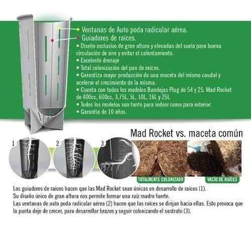 mad rocket 10 lts. valhalla grow