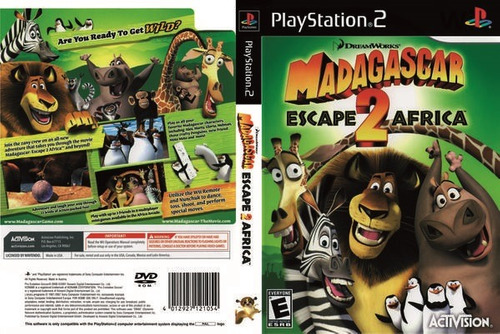 madagascar 2 * escape 2 africa / playstation 2 ps2