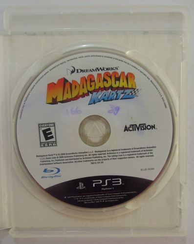 madagascar kartz para ps3 , playstation 3