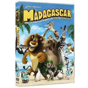 madagascar (seminovo) / original -dvd