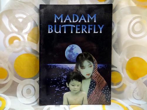 madam butterfly programa del concierto 1998 en inglés