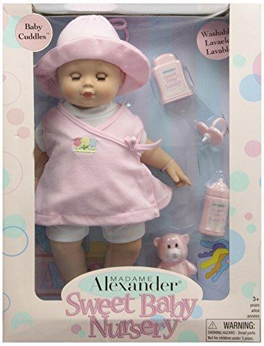 madame alexander bebé abrazos, de 14 pulgadas