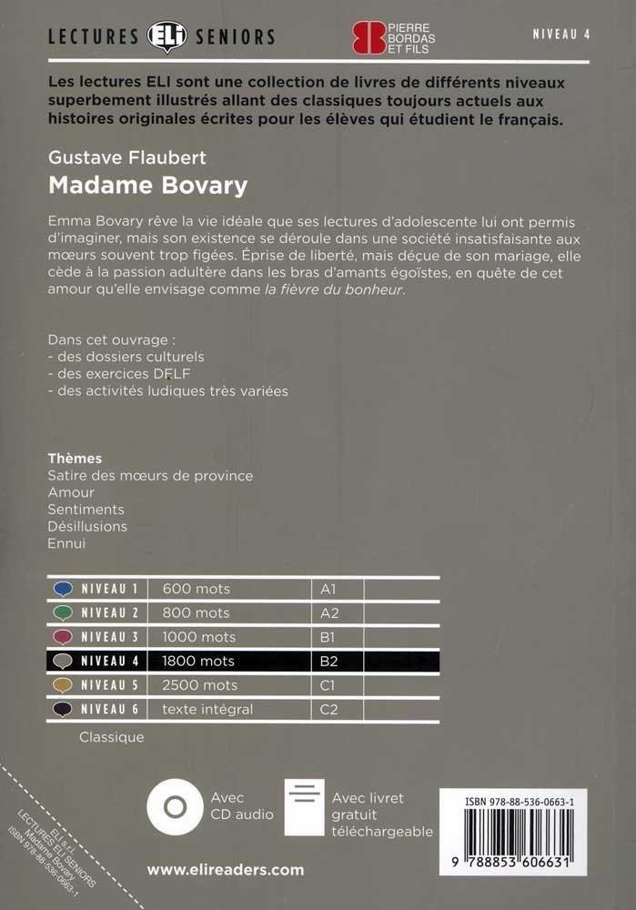 Madame Bovary Audcd Lectures Hub Seniors Niveau 4 Flauber