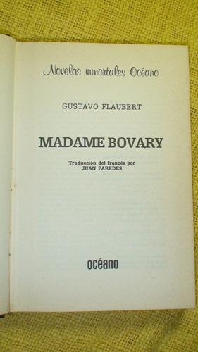 madame bovary - gustavo flaubert - edición tapa dura