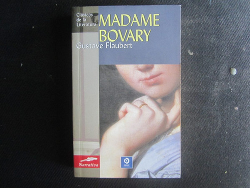 madame bovary por gustave flaubert, novela clásica, bolsillo