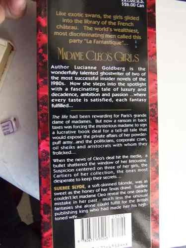 madame cleo´s girls lucianne goldberg en ingles tapa dura