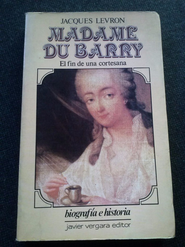 madame du barry jacques levron