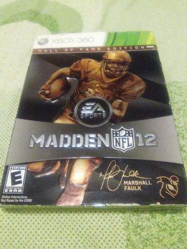 madden 12 hall of fame edition xbox 360