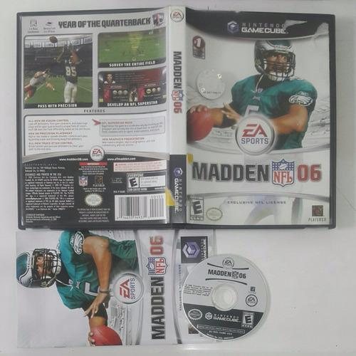 madden nfl 06 / football americano/  gamecube & wii