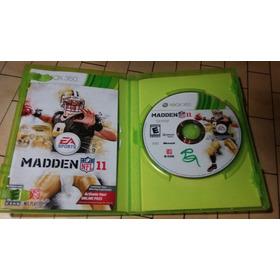 Madden Nfl 11 Xbox 360 Gamestoreshock