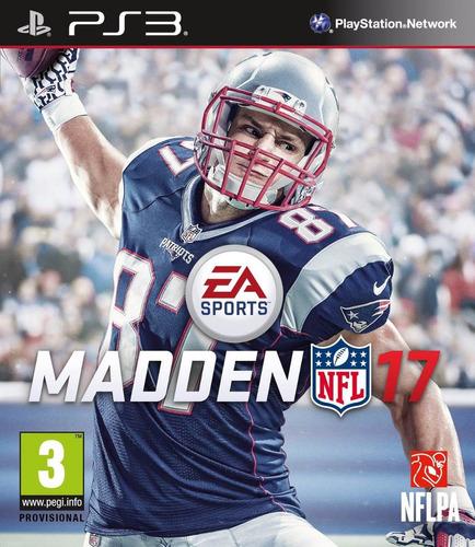 madden nfl 17 juego digital ps3 oferta !!