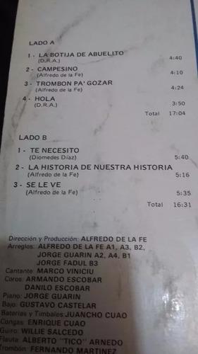 made in colombia alfredo de la fe lp vinilo salsa