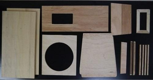 madeira cortada pra line array s 12