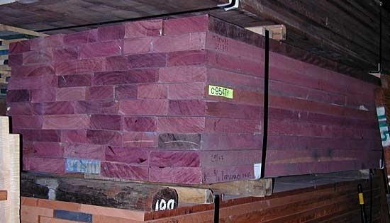 Madeira Roxinho Purpleheart R 185 00 Em Mercado Livre