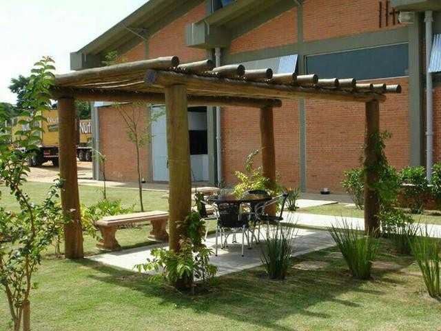 Madeiras de eucalipto tratado para pergolados e constru o r 92 70 em mercado livre - Casas de campo en elche de bancos ...