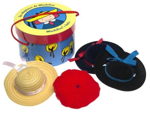 madeline hat box con cuatro sombreros