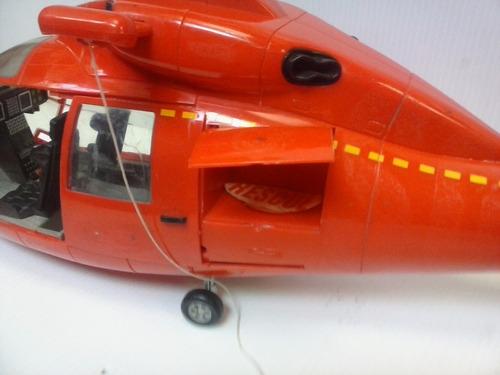 madelman helicoptero de rescate popular de juguetes