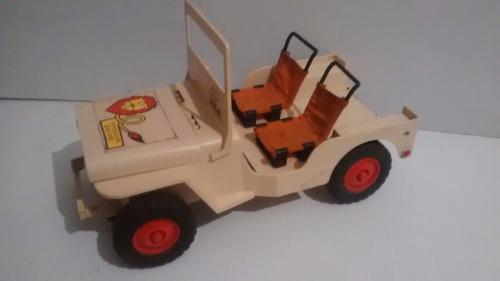 madelman jeep safari vintage 1970 no kid acero mego gi joe