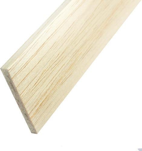 madera balsa en plancha de 12 mm 7,6 cm x 91,5 cm