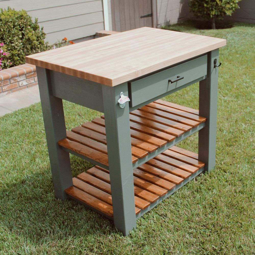 madera cocina mesa