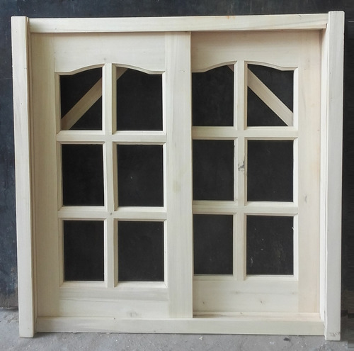 madera con puerta