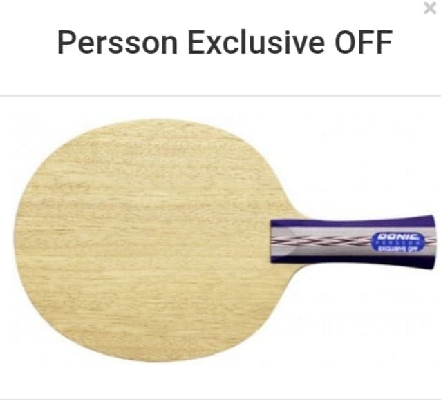 Donic Madera Persson Exclusive Off