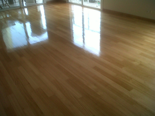madera entablonado piso