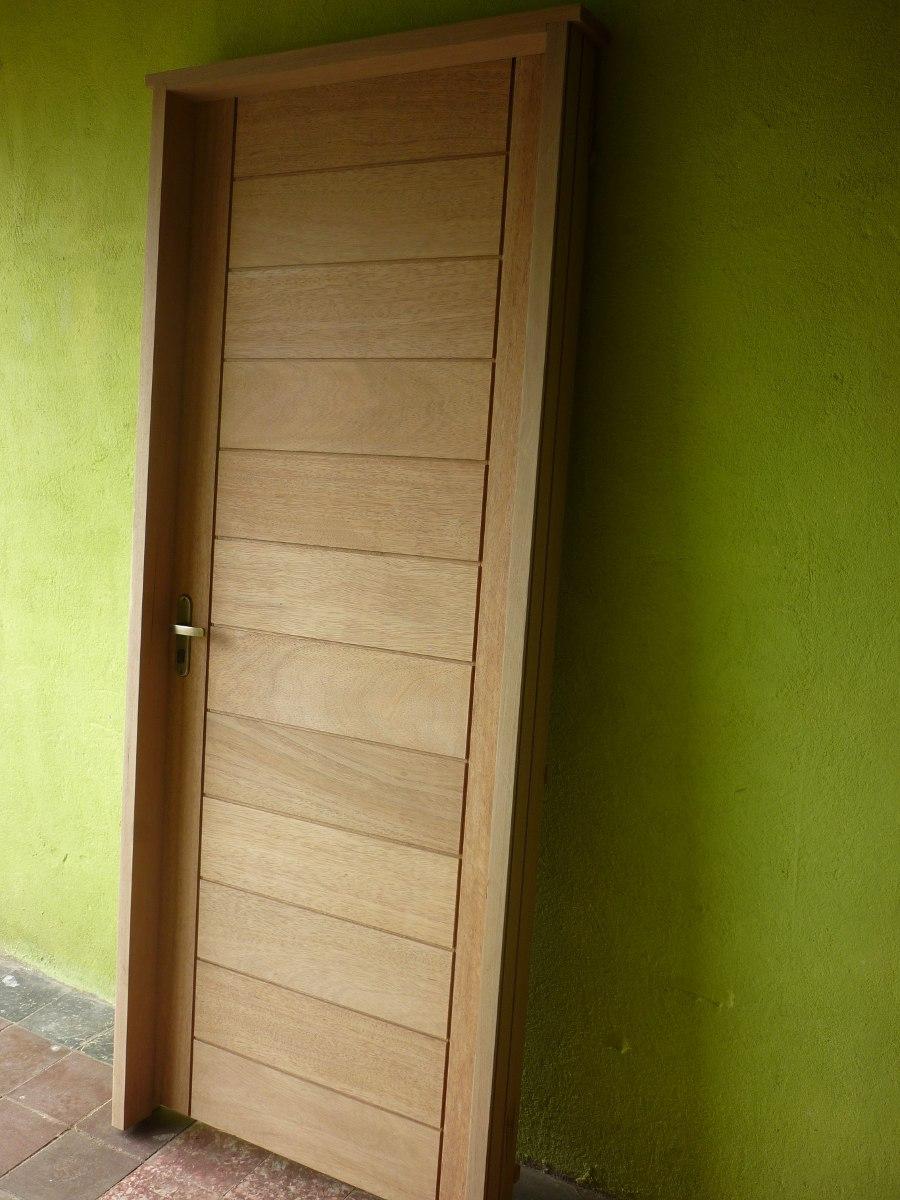 Puerta madera exterior en cedro de 1 calidad for Puerta de madera exterior usada