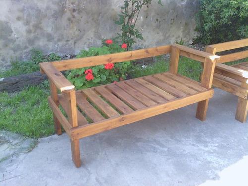 madera muebles jardin sillon jardin exterior