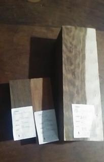 madera para encabar cuchillos