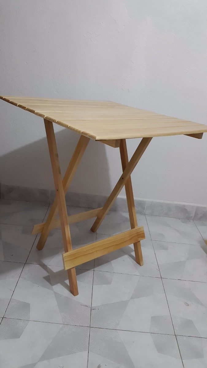 Mesa grande plegable de madera para casa y jard n no for Mesa jardin madera plegable