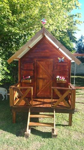Cabana De Madera Tipo Cuadrada Para Ninos 1780000 En Mercado Libre - Cabaas-de-madera-para-nios