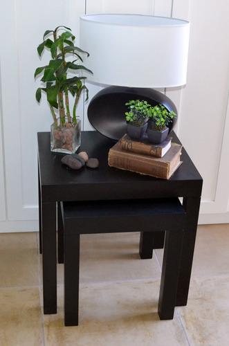 madera ratonas mesa