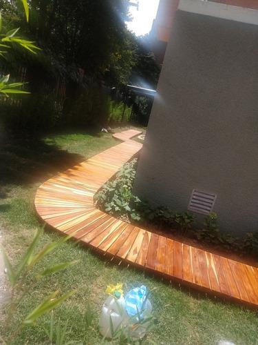 madera teka ,deck ,pergola, pisos