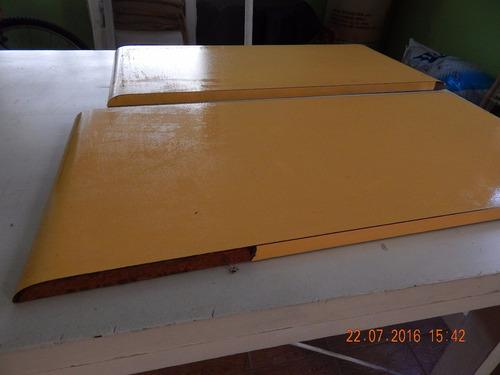 maderas que sirven para estantes.