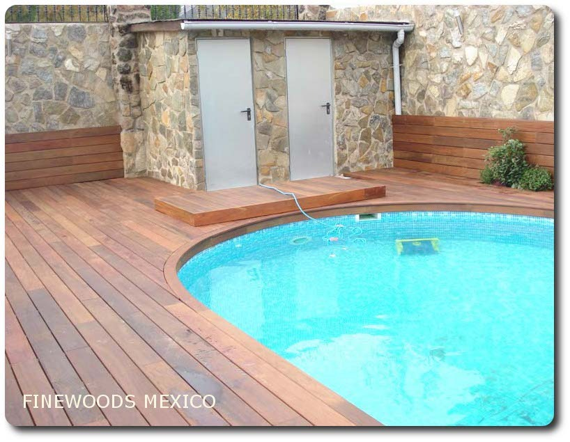 Maderas terraza jardin deck cumaru ipe teca pisos for Piso exterior zulia