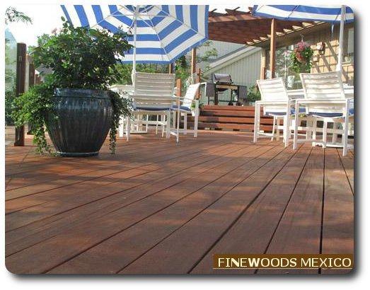 Maderas terraza jardin deck cumaru ipe teca pisos for Pisos de terrazas